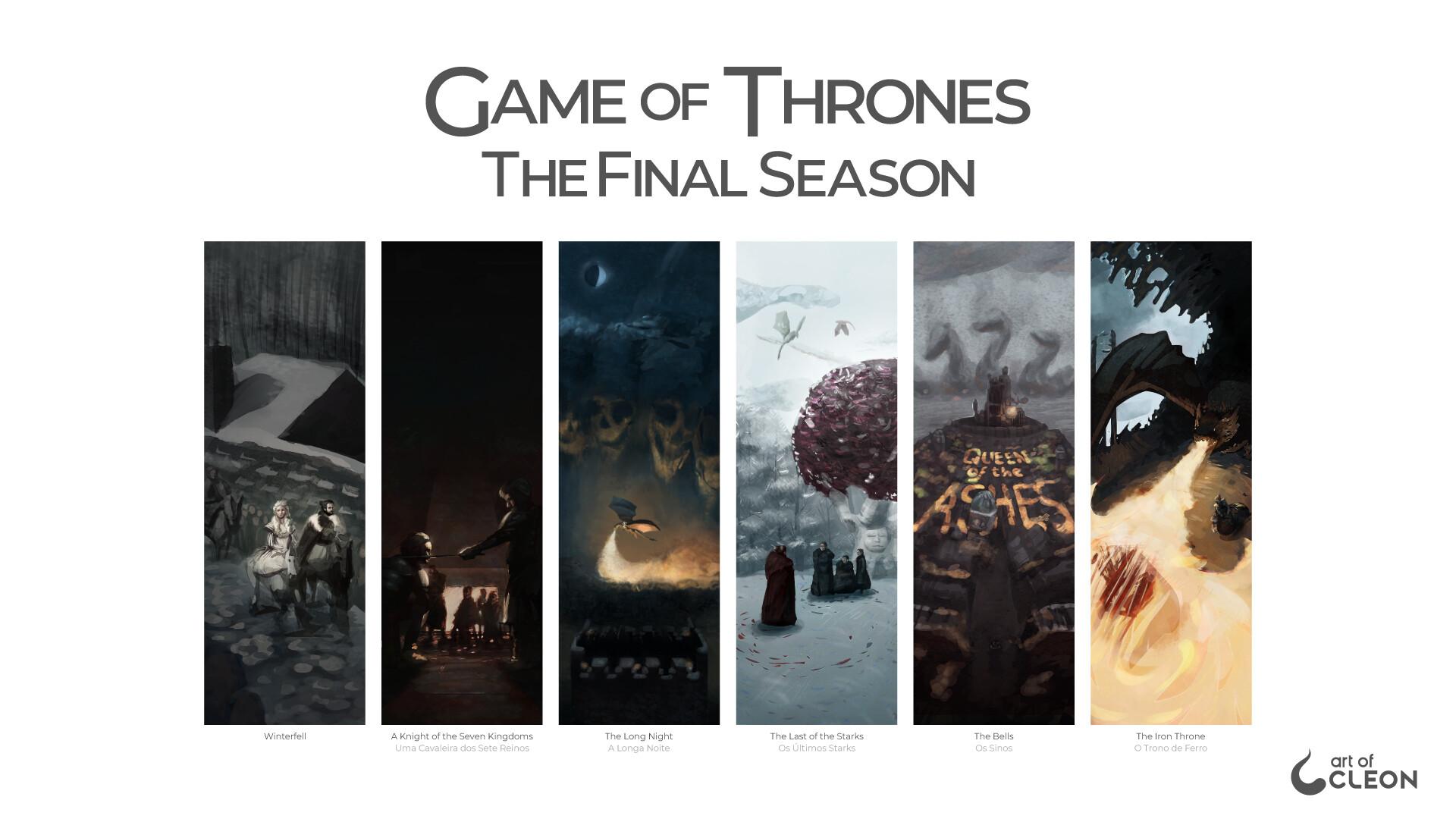 Artstation Game Of Thrones The Final Season Illustration