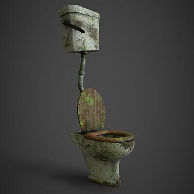 Joshua farmer toilet front