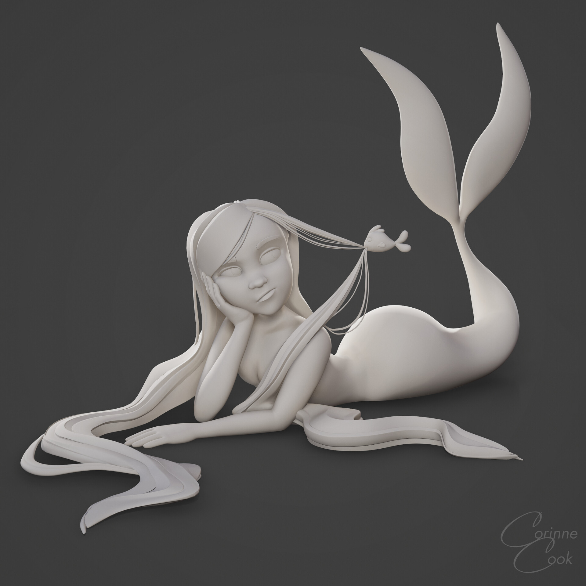 Corinne cook mermay clay