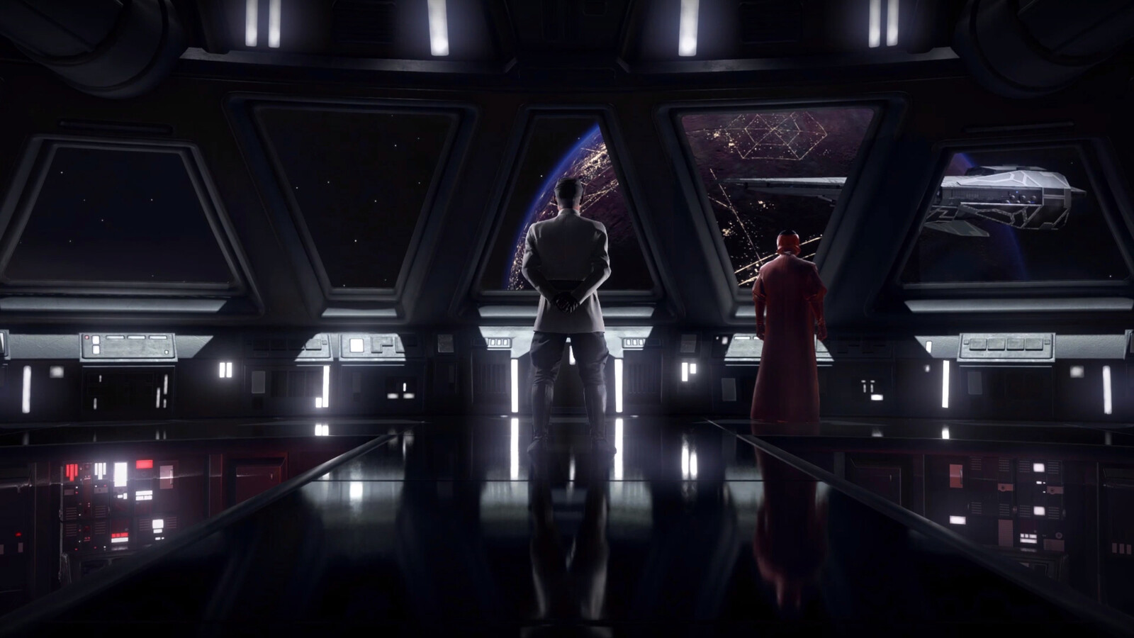 I was responsible for the computer panels and terminals in the bridge of the Star Destroyer