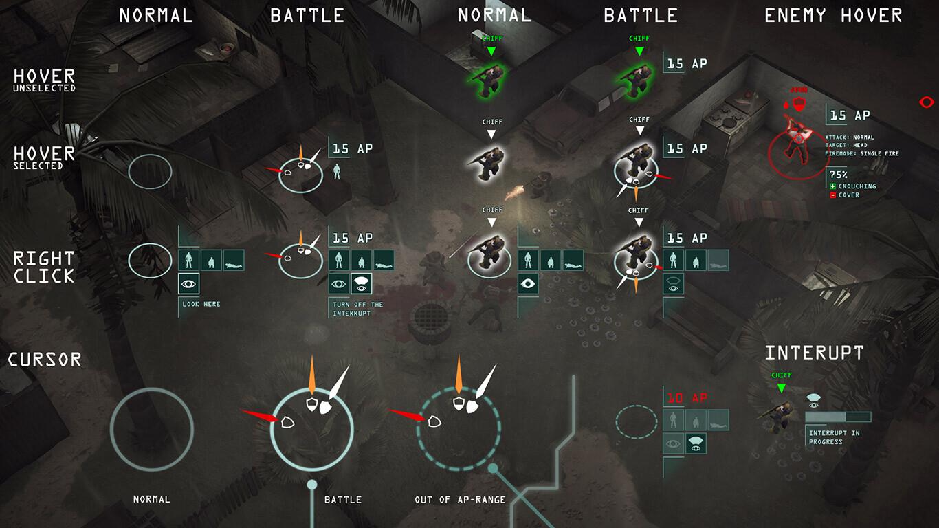 Game UI: Cursor concept