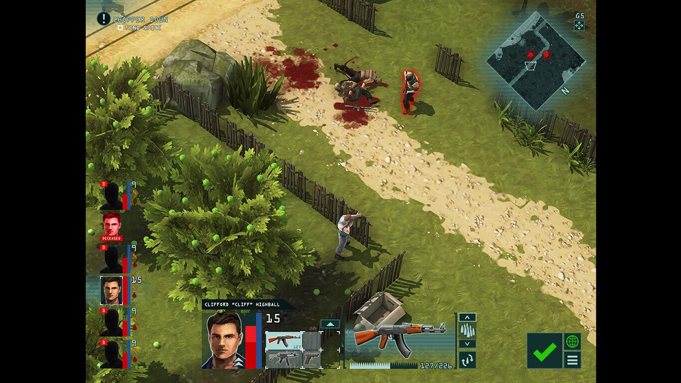 Game UI: HUD concept