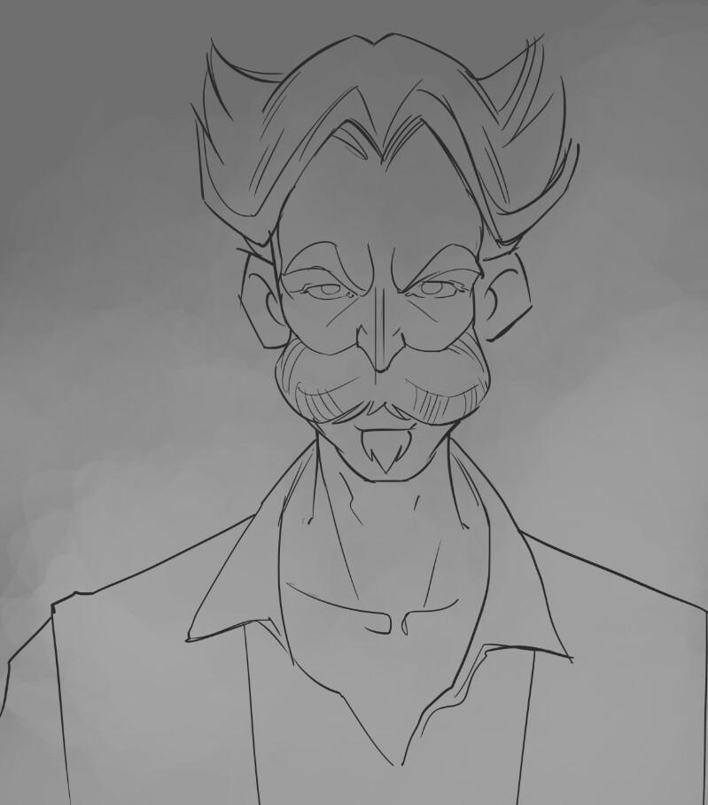 1. Rough sketch