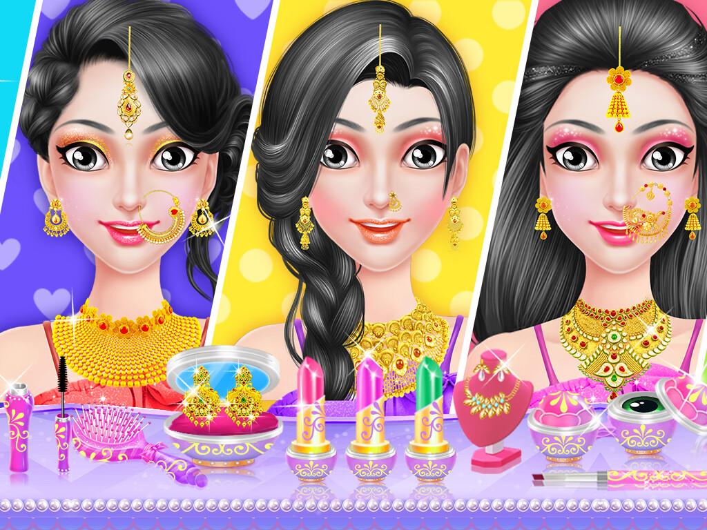 Mazhar Nagori   Indian Bridal Makeup Games