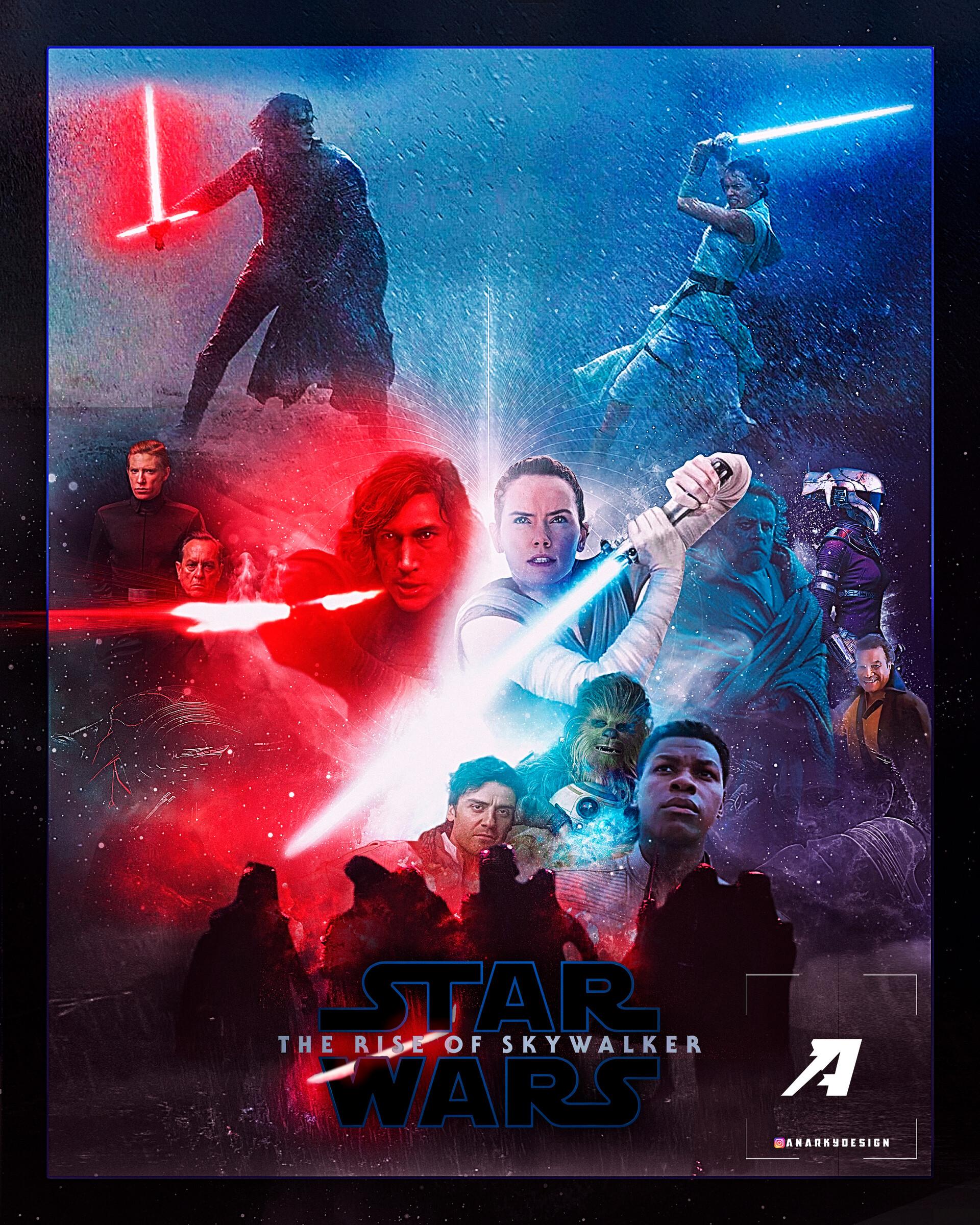 Artstation Star Wars The Rise Of Skywalker Tobias Pampinella