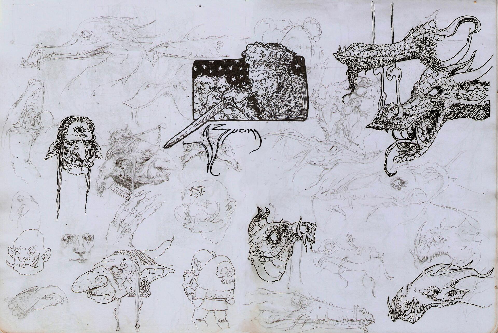 Daniel zrom danielzrom sketchbook11
