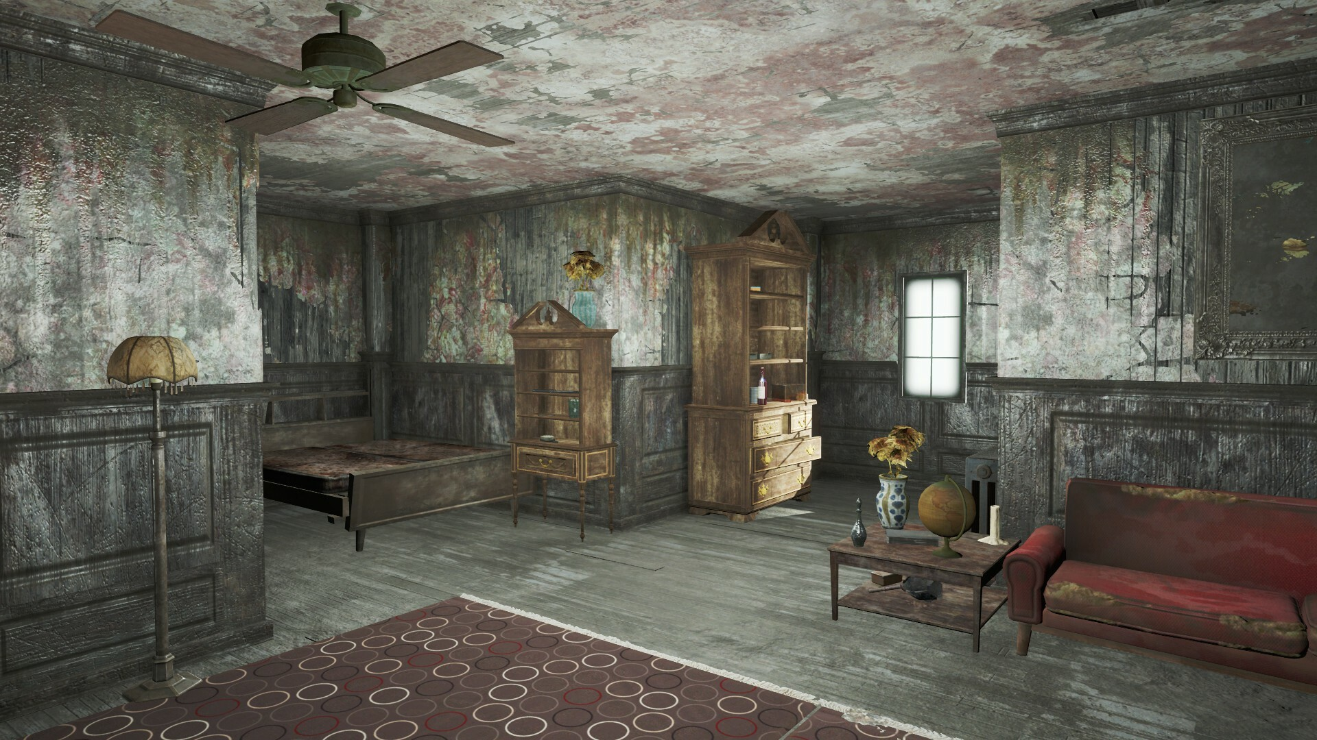 The guest rooms are all very different so the player can differentiate between them when exploring.