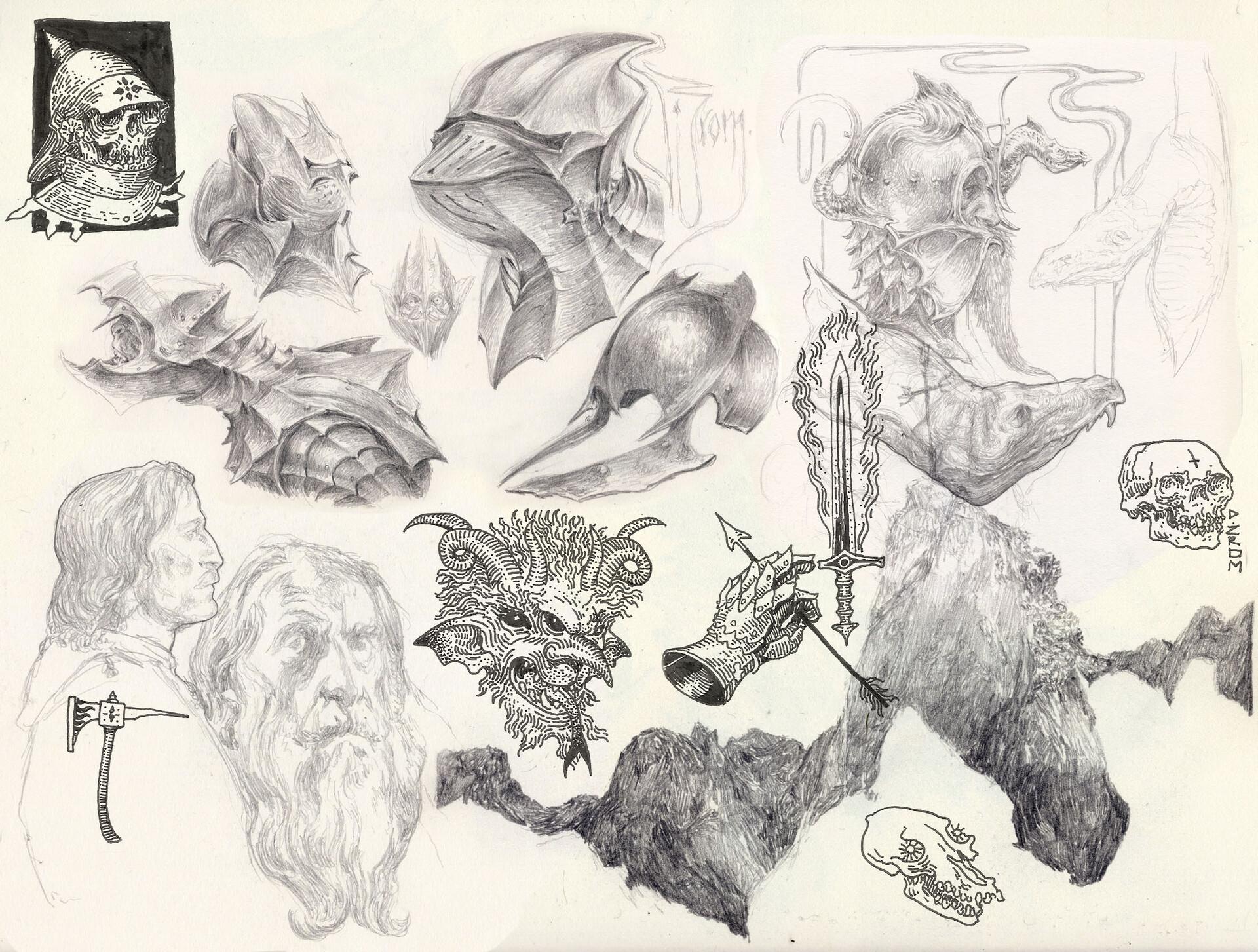 Daniel zrom danielzrom sketchbook17