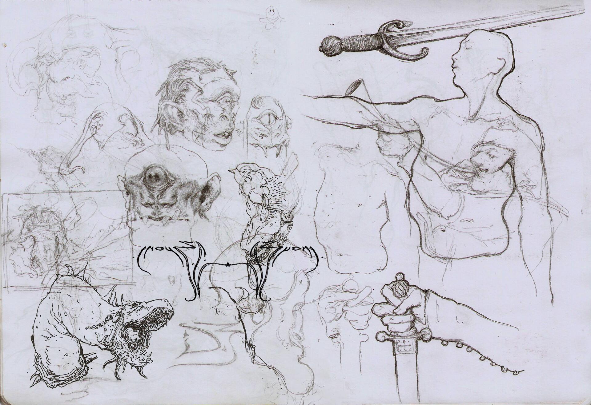 Daniel zrom danielzrom sketchbook19