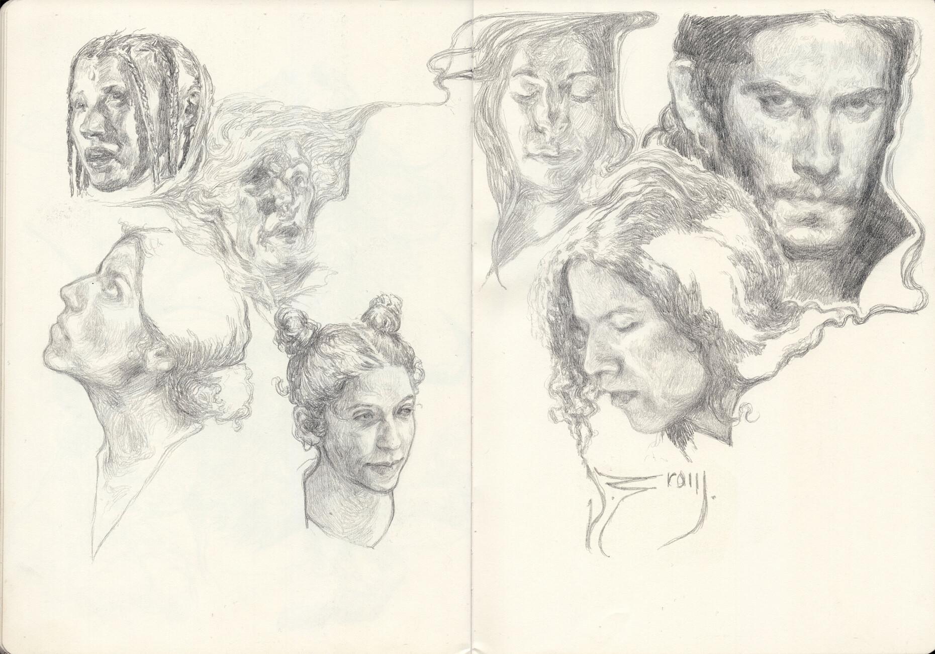 Daniel zrom danielzrom sketchbook20