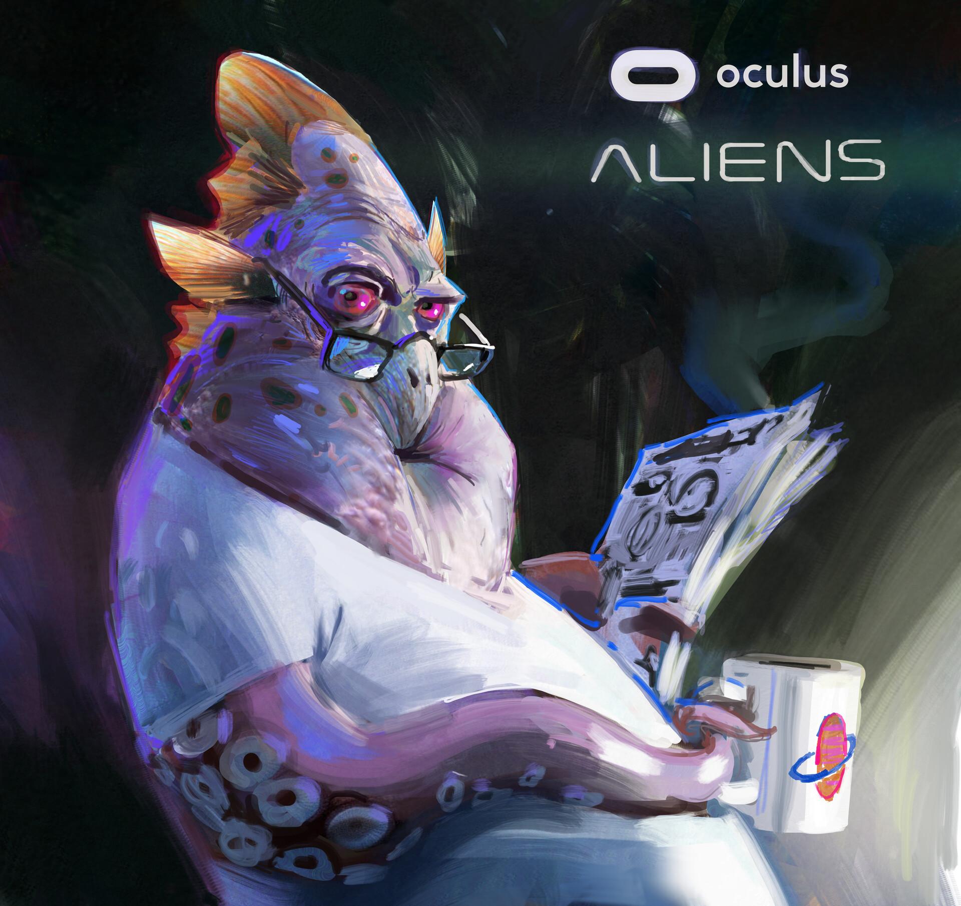 John wallin liberto oculus aliens 1