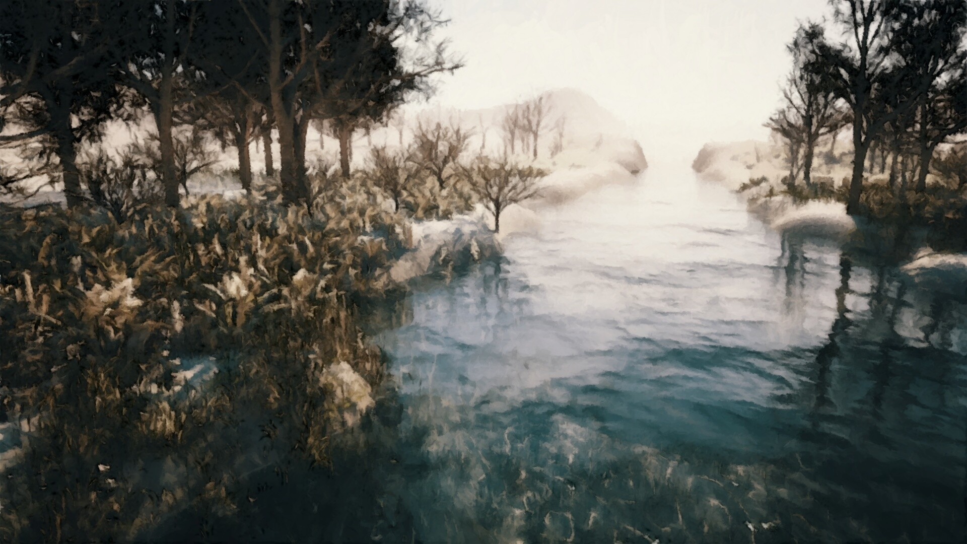 Paul bury winter fotosketcher