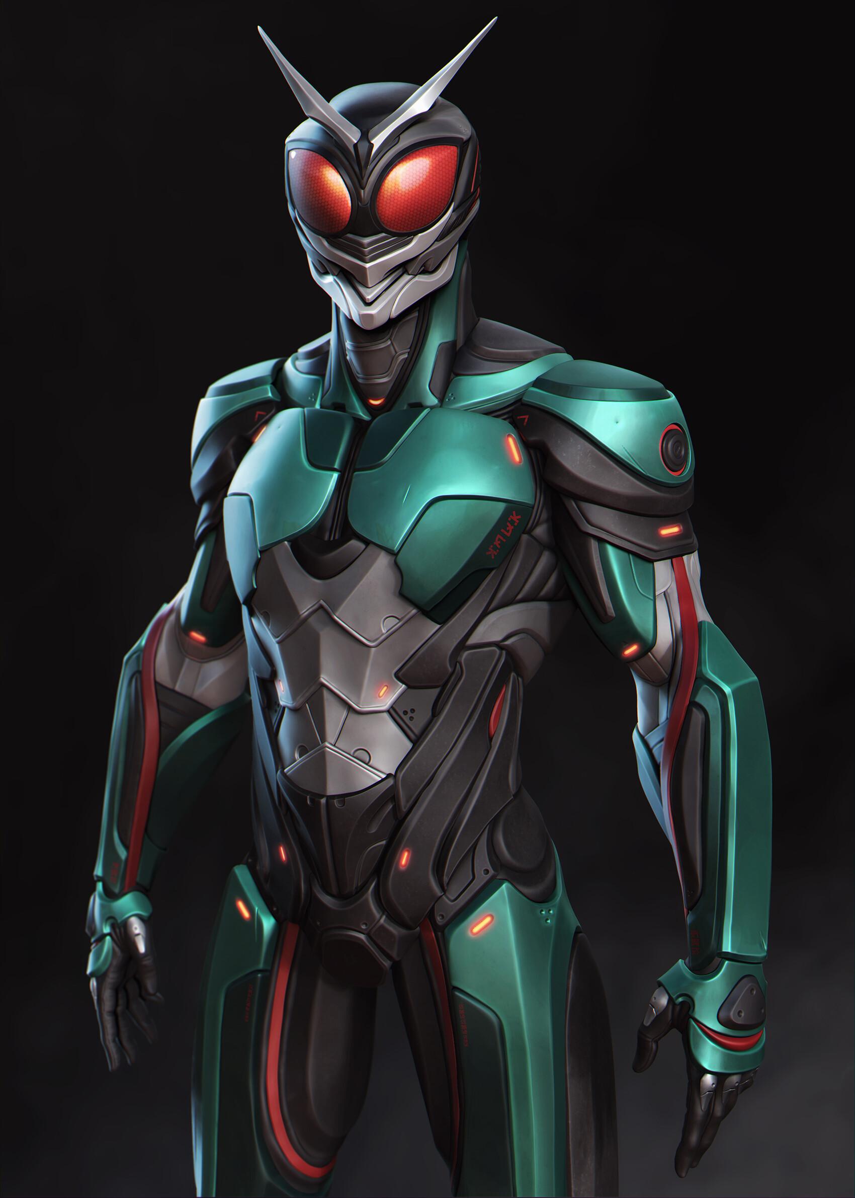 ArtStation - Kamen Rider Black RX, Raphael Perroni