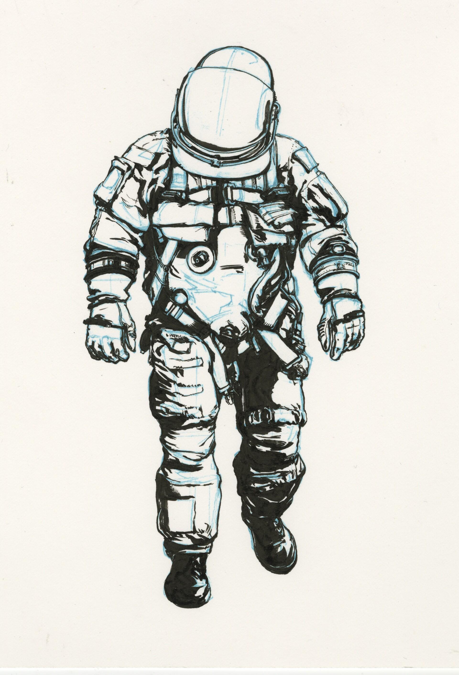 Moon to Mars: Astronaut Ink
