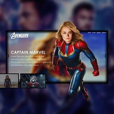 Egehan dogan avengers captainmarvel