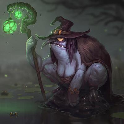 Thomas bourdon frog witch