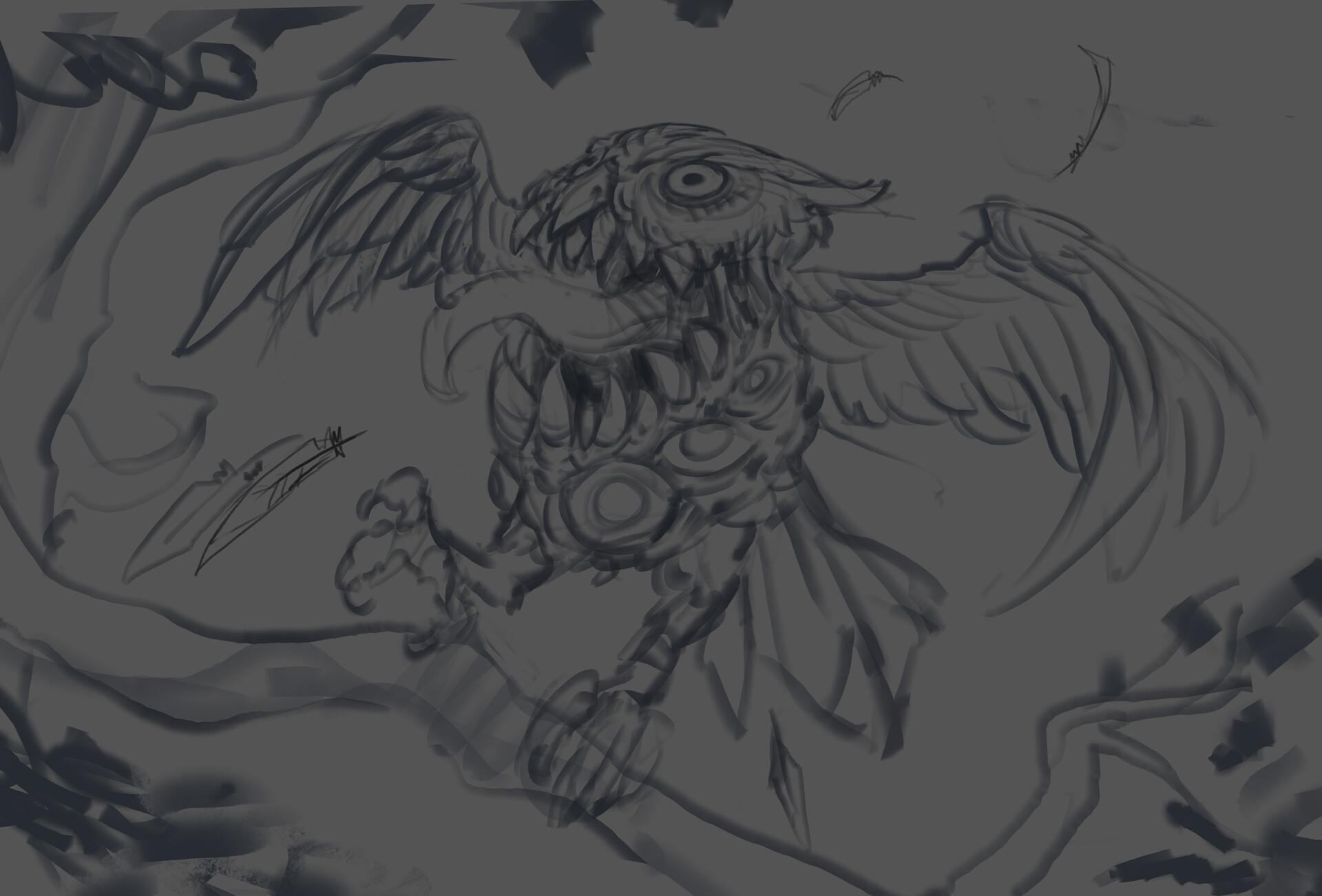 Thomas bourdon night owl sketch