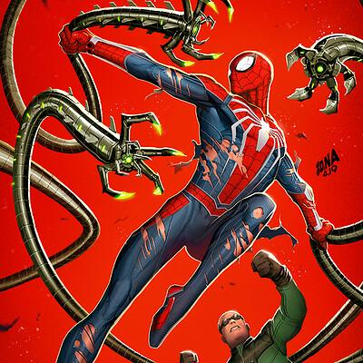 David nakayama spiderman ock 1000v