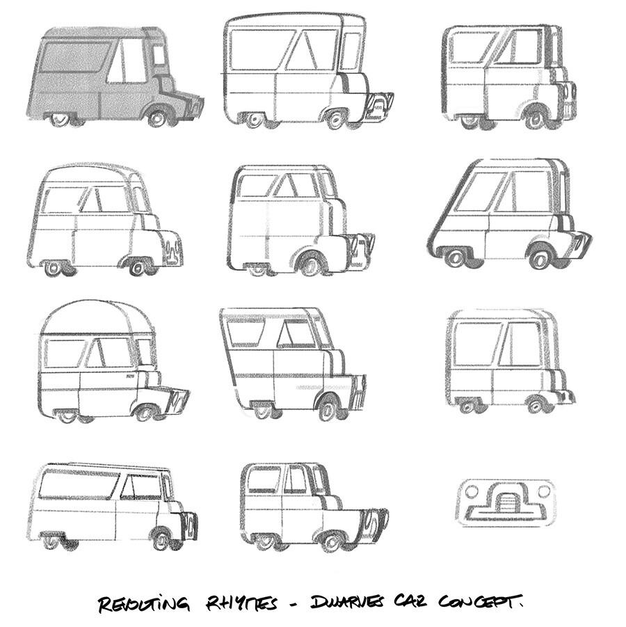 Dwarves car concepts