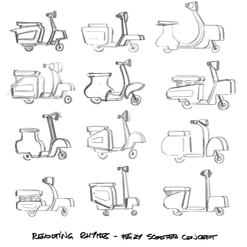Fairy's scooter concepts