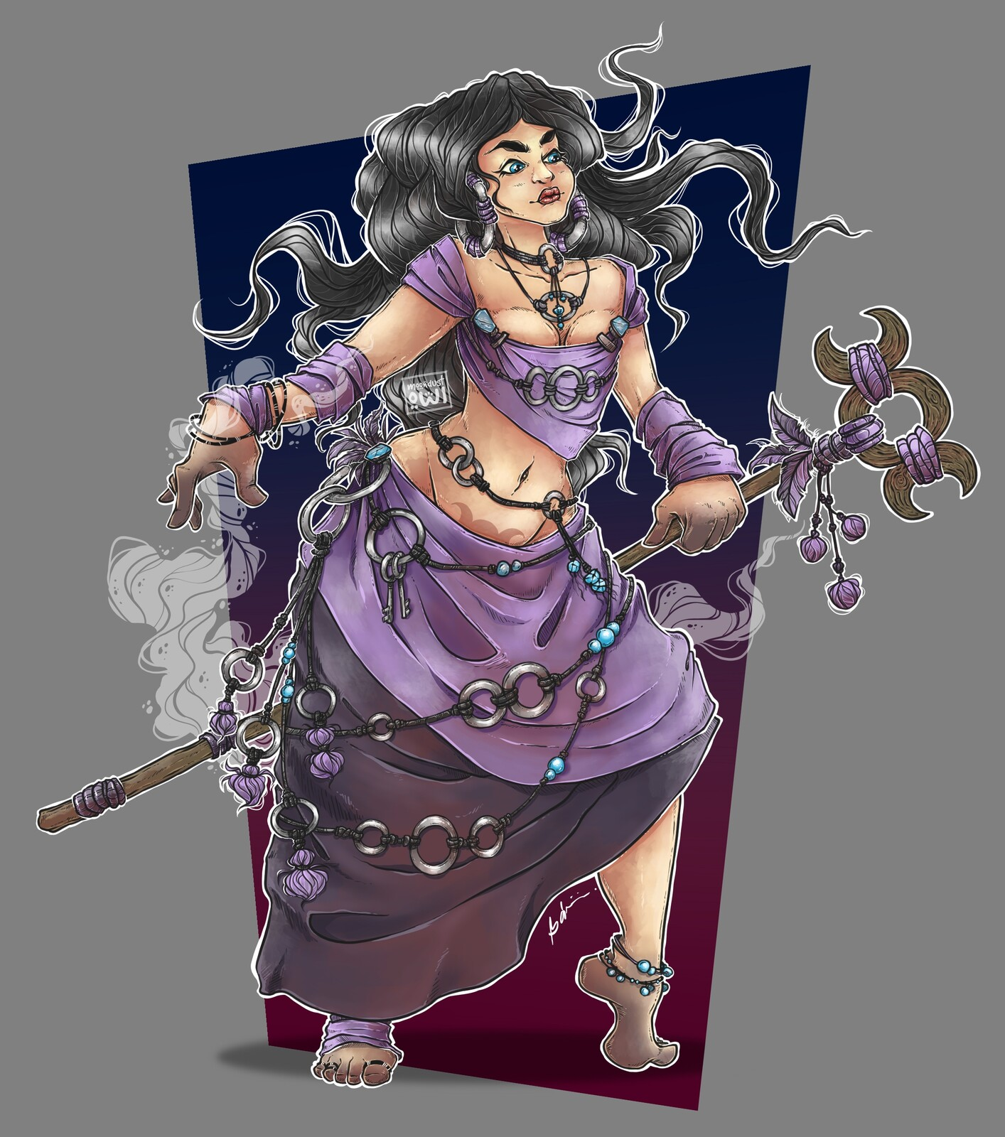 Finished character art