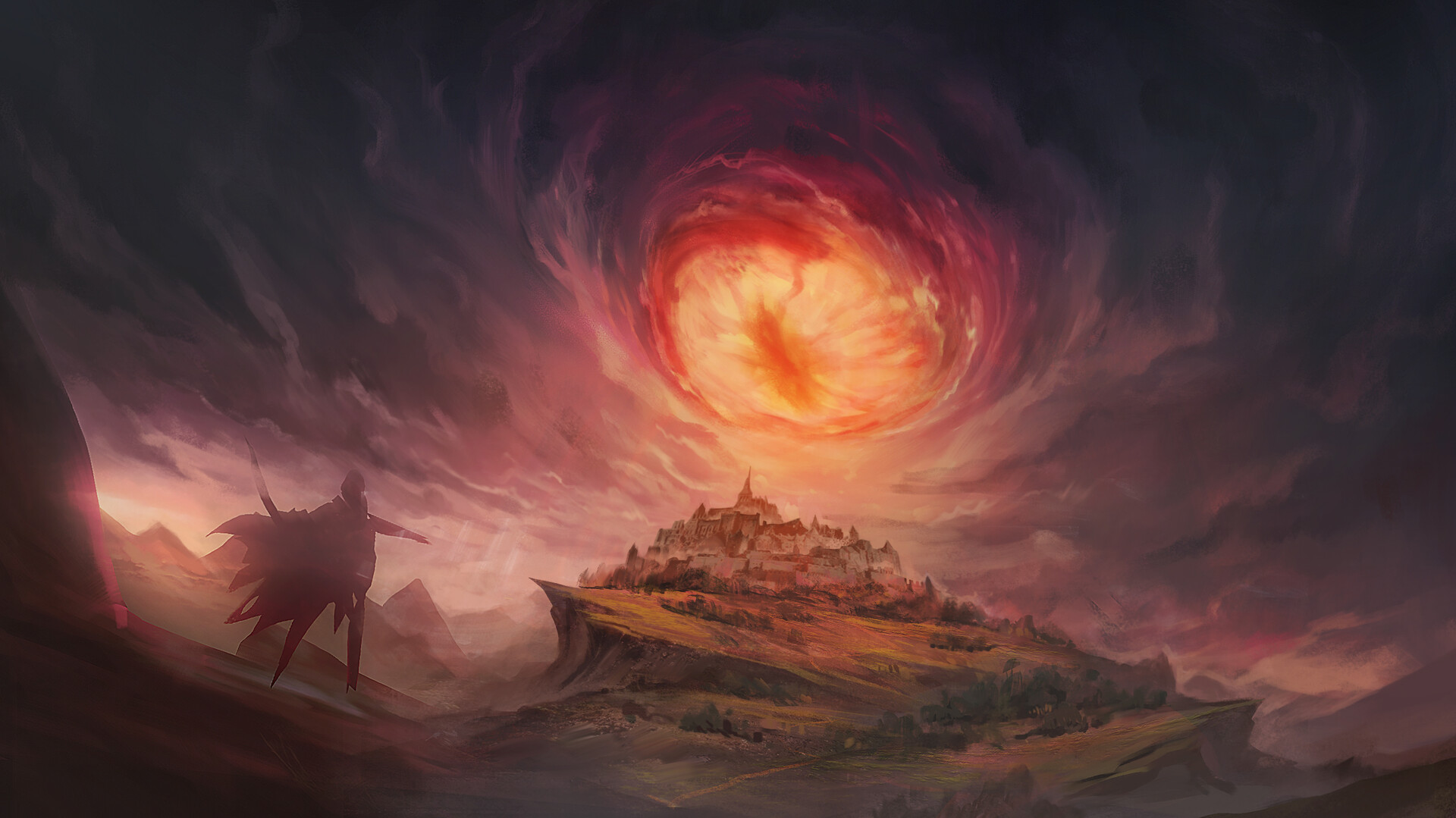 Thomas bourdon eye of the storm sketch 2