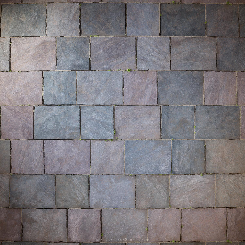 Ben wilson slate stone floor render 1 2