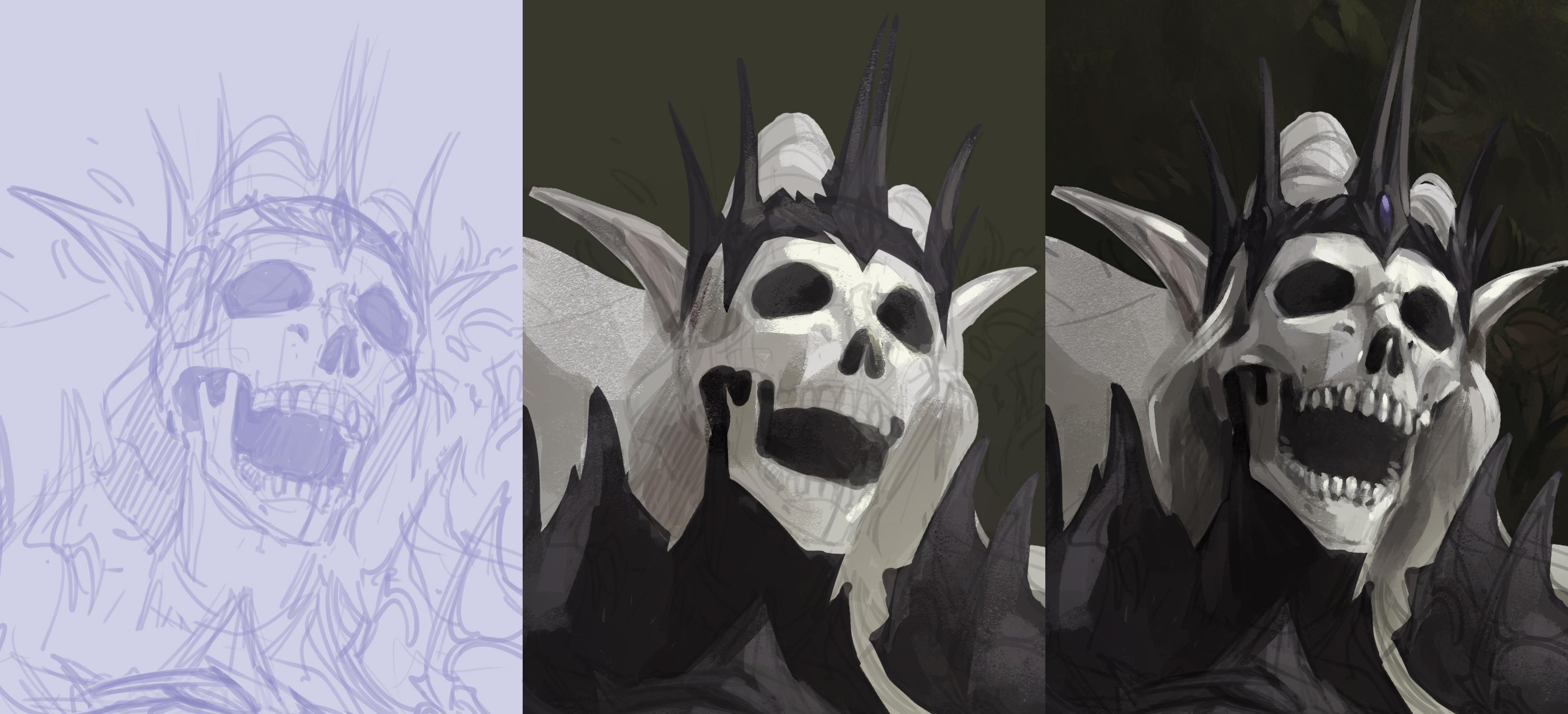 Progress Skull