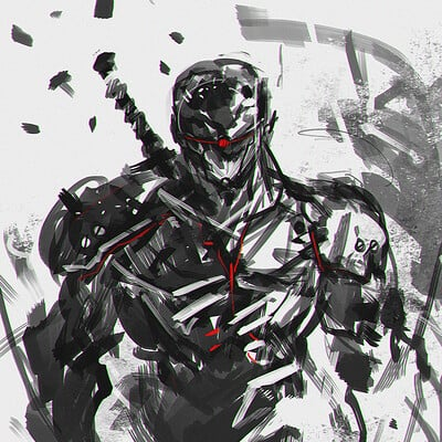 Benedick bana cyborg ninja lores