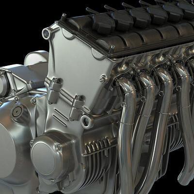Ying te lien l6 engine