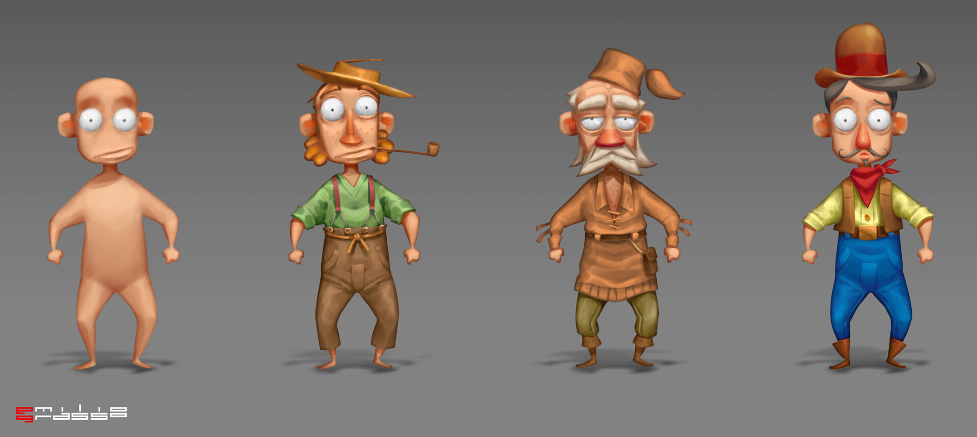 Emilio grasso characters style3