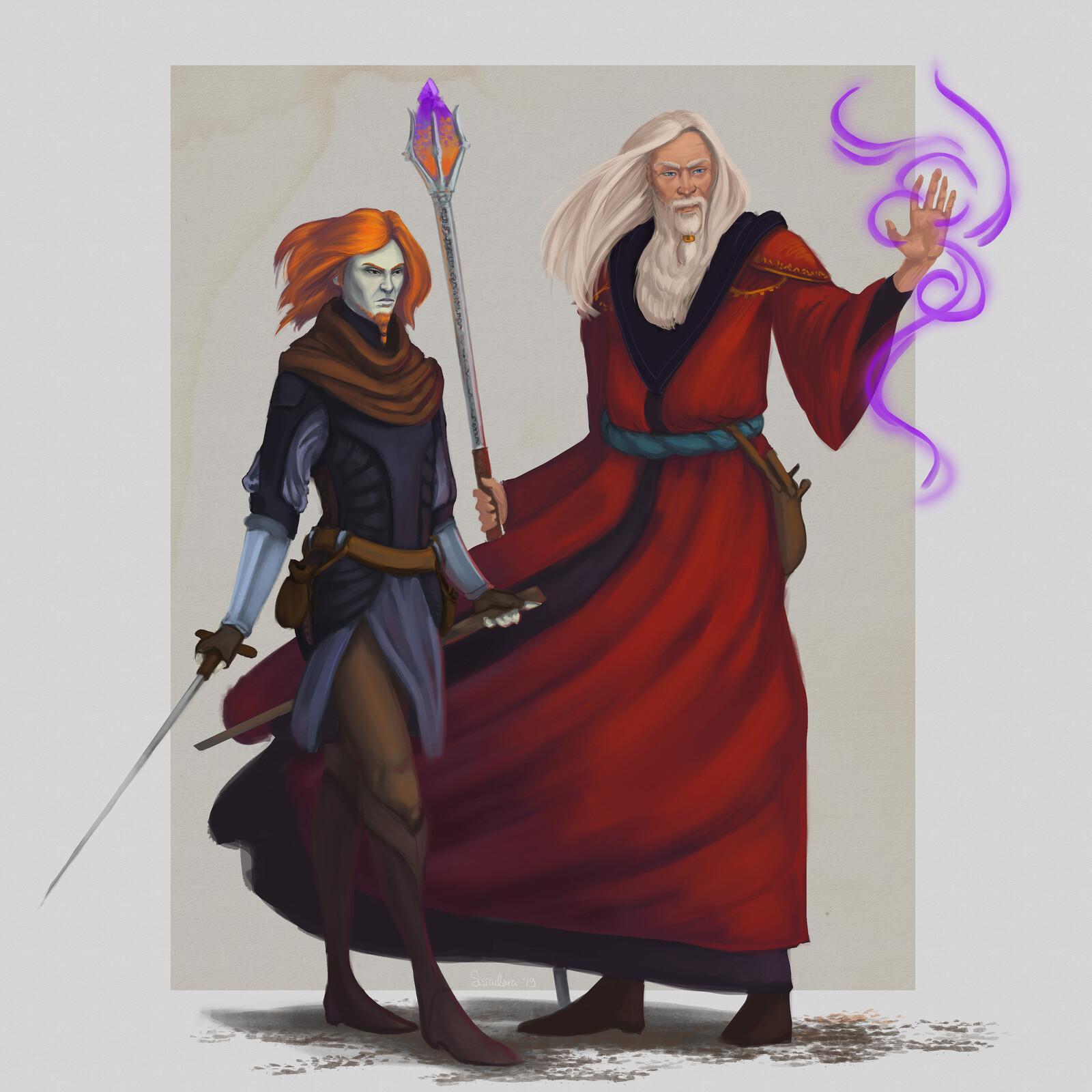 Mordecai and Ramus
