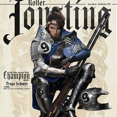 Johnson ting rollerjousting afterbattle2 magazinebg3