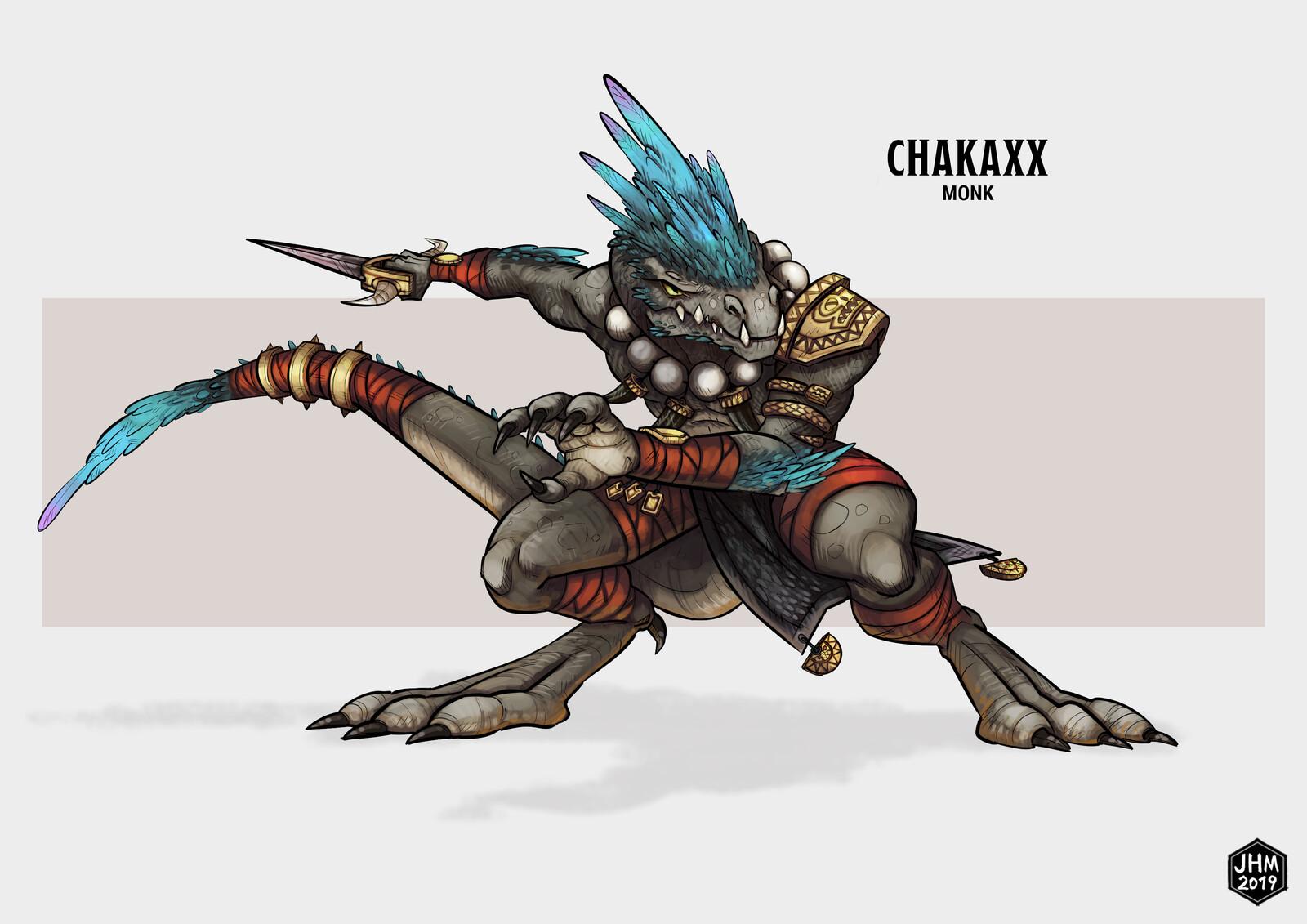 Chakaxx - Lizardfolk Monk