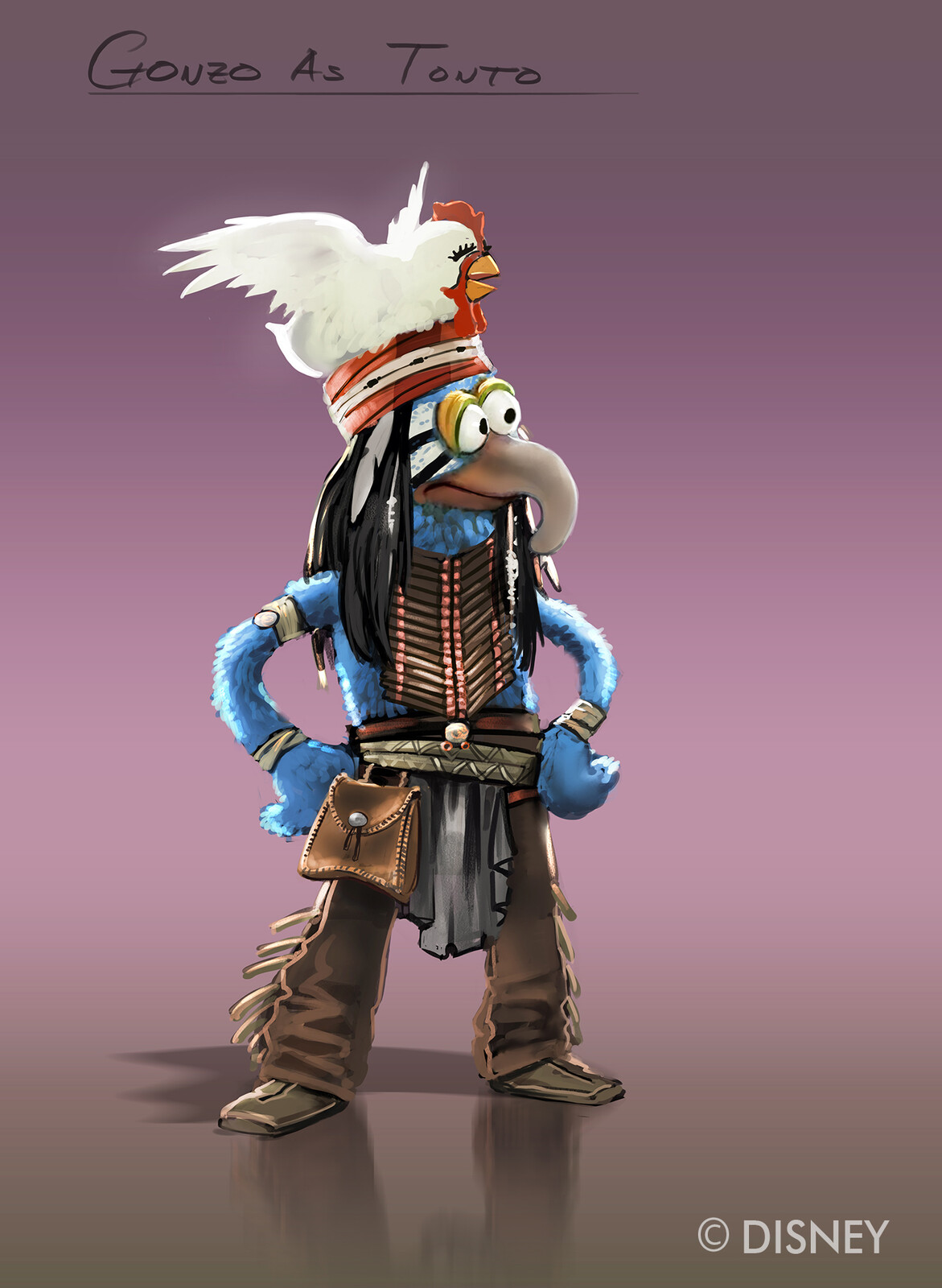 Gonzo the Great Character designs