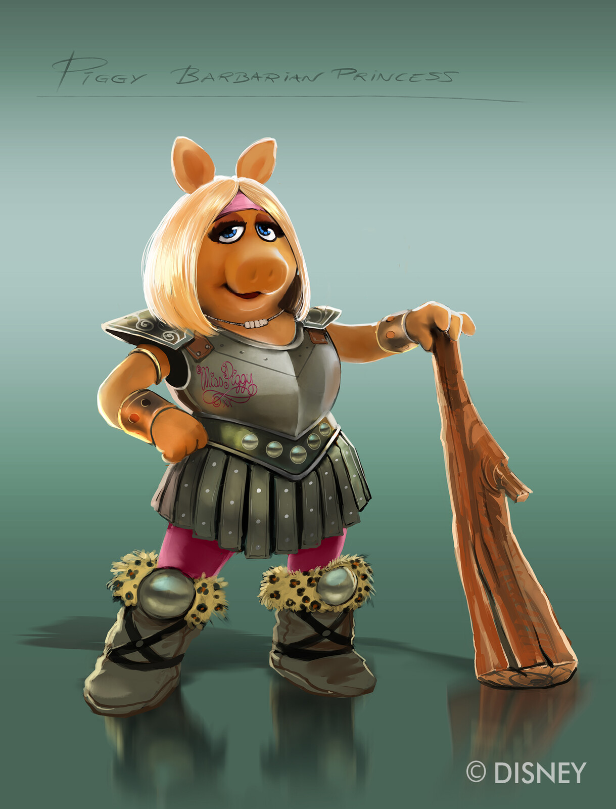 Miss Piggy Characters Designs