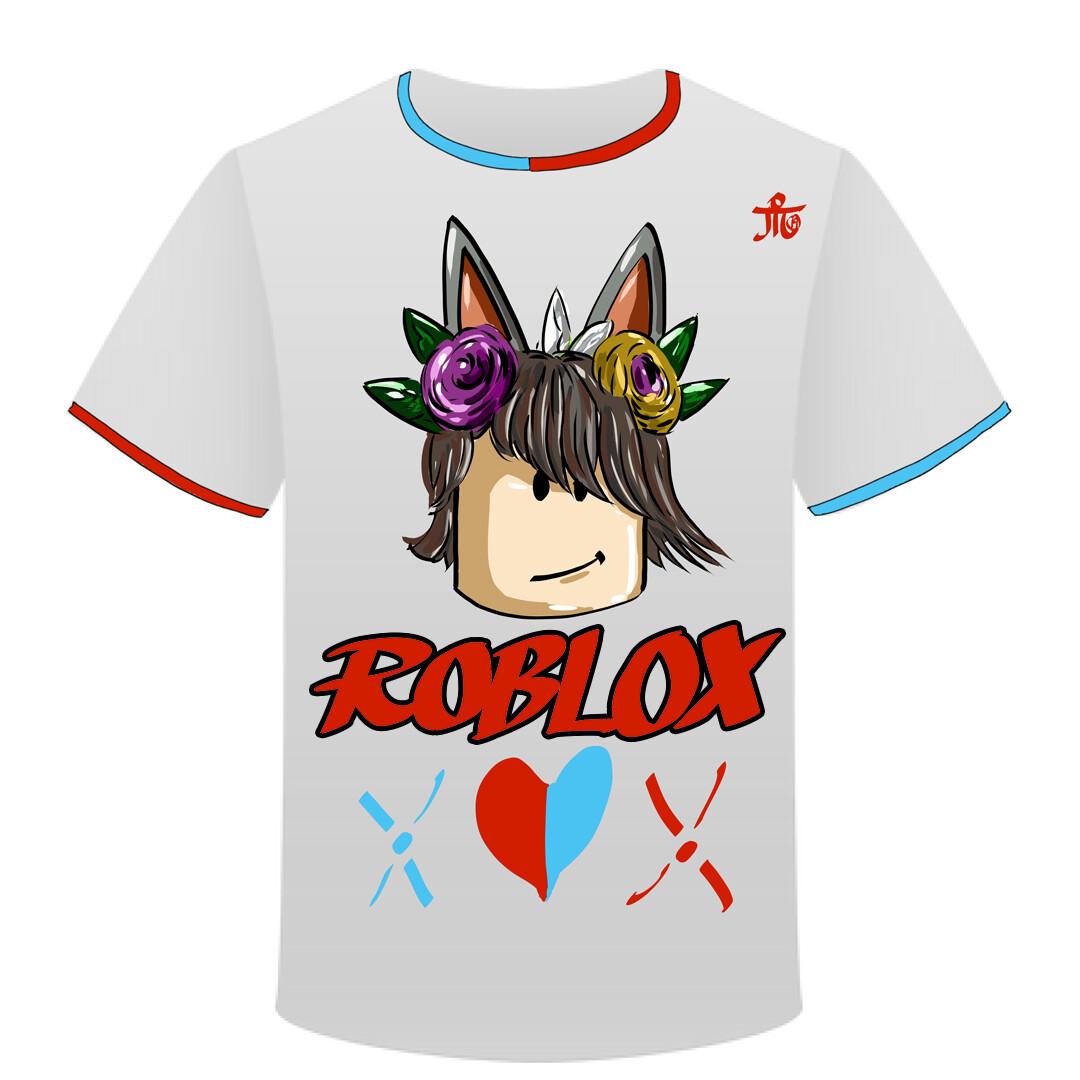 Roblox Tshirt Artstation Roblox T Shirt Design Angel Garcia Nieto