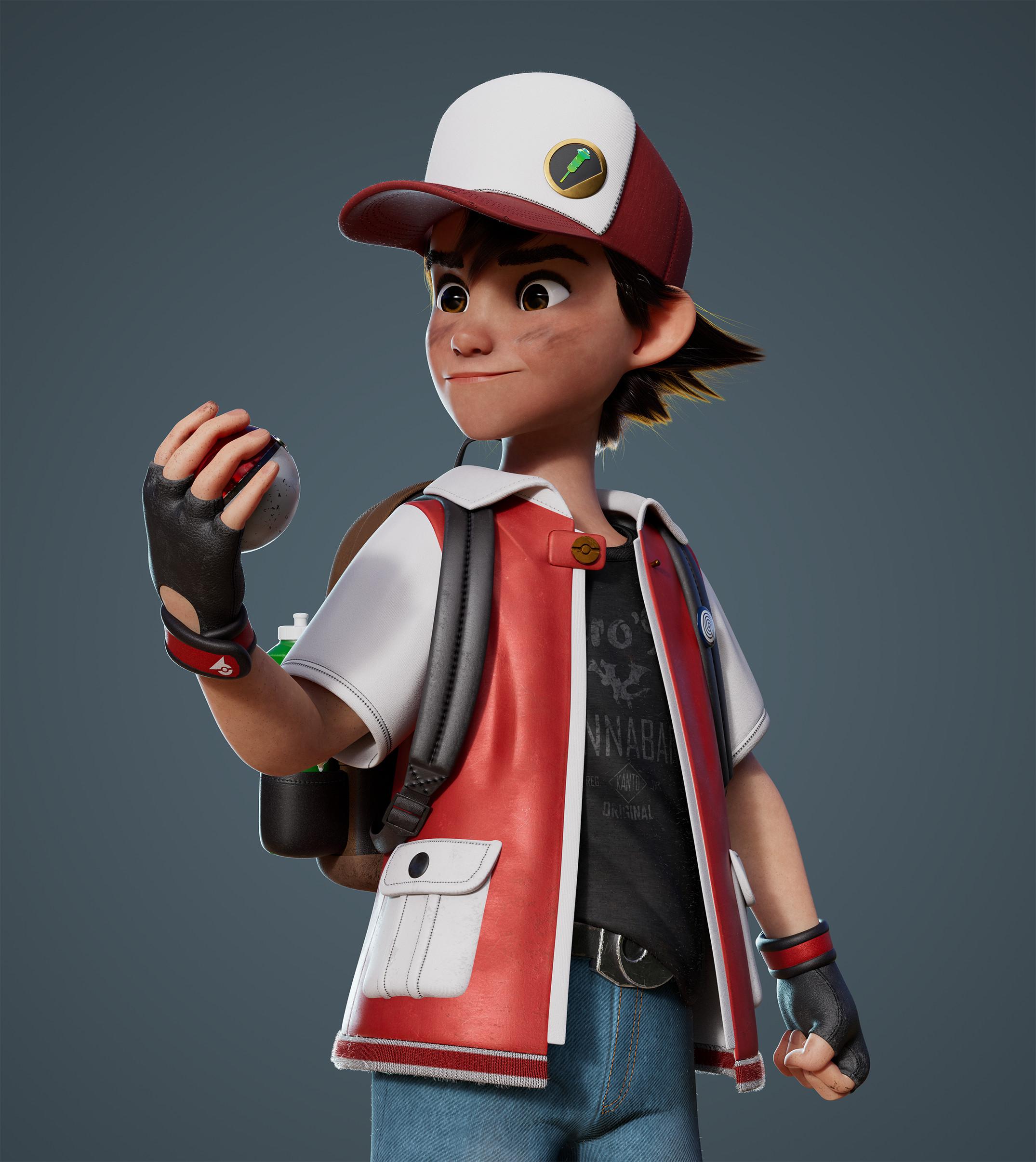 [Nintendo] L'univers Pokémon - Page 16 Spenser-morgan-pokemontrainerred-closeupartstation