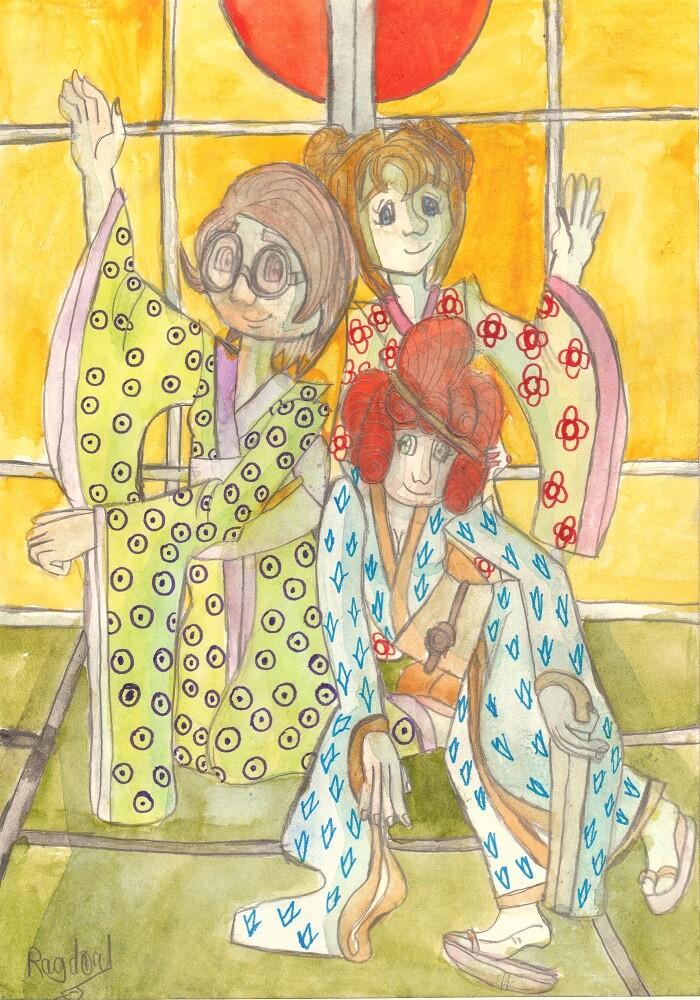 Auriane martin kimono s women
