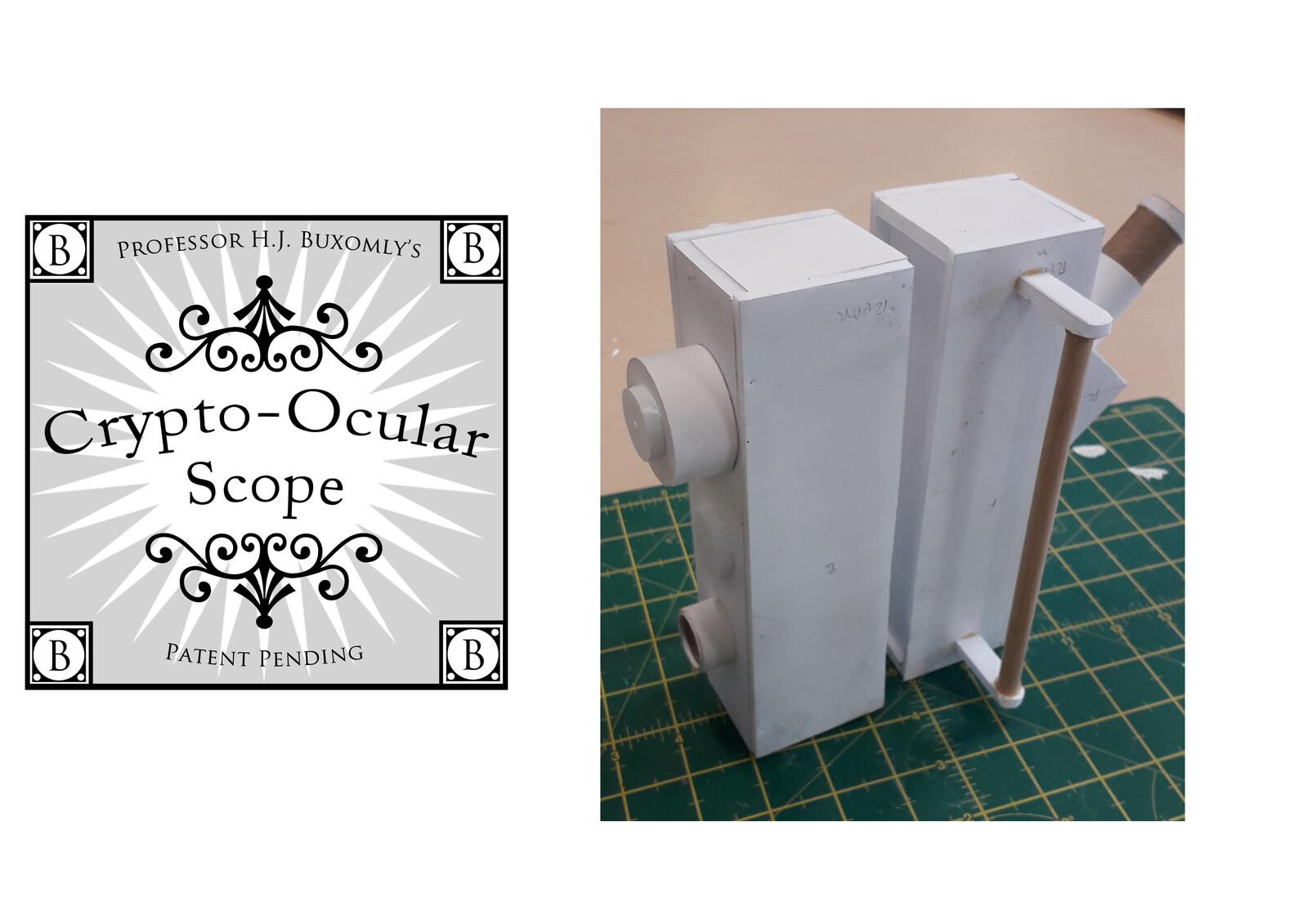 Foam card model test build
