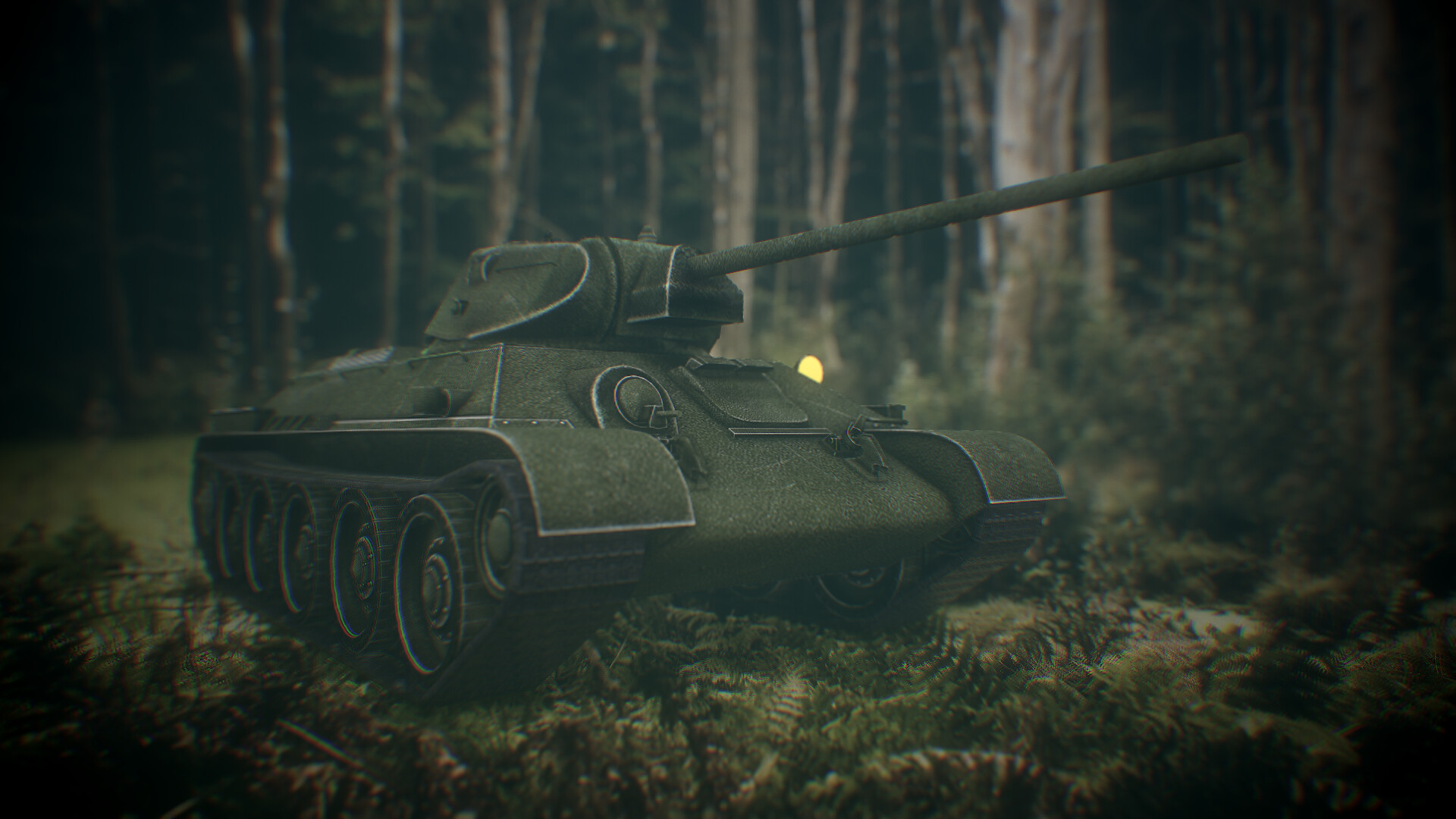Low Poly Soviet Tank T-34 Game ready  2013 scorpion3dcom  Tomas Laureckis