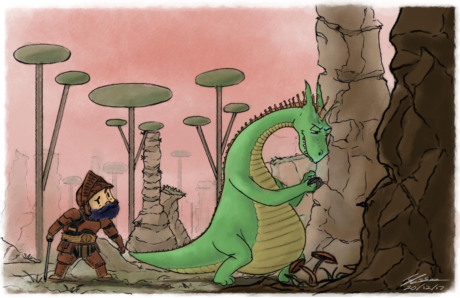 Joshua condison phones dragon