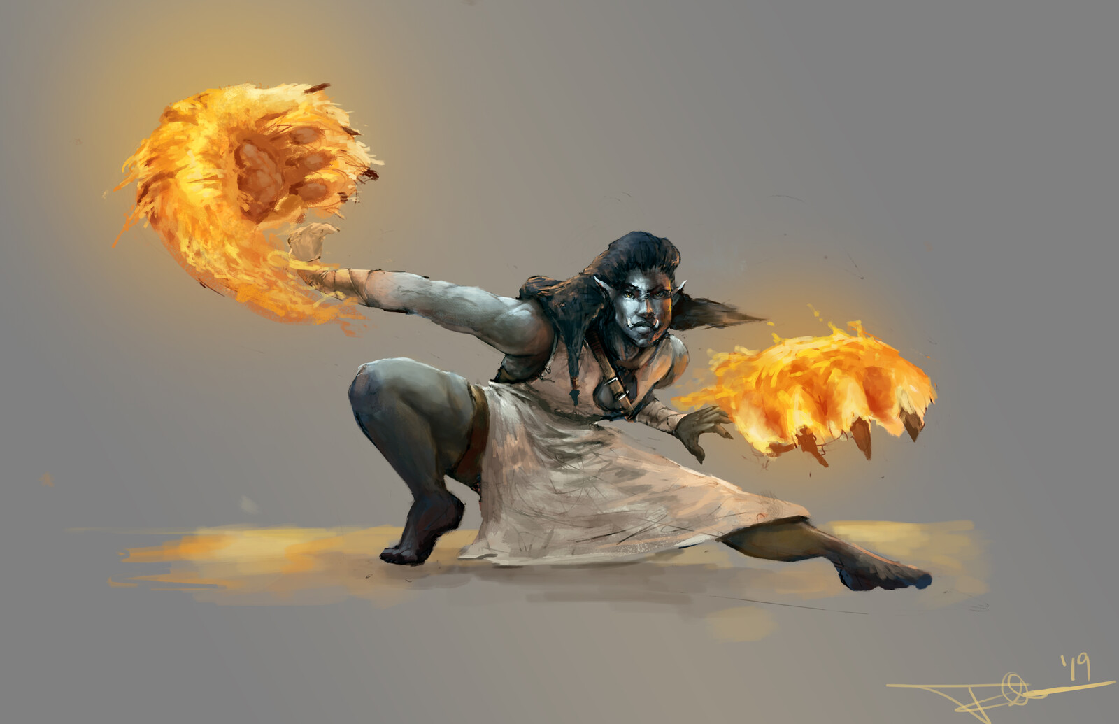 Tiger Claw Monk