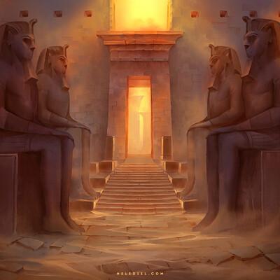 Nele diel sun temple