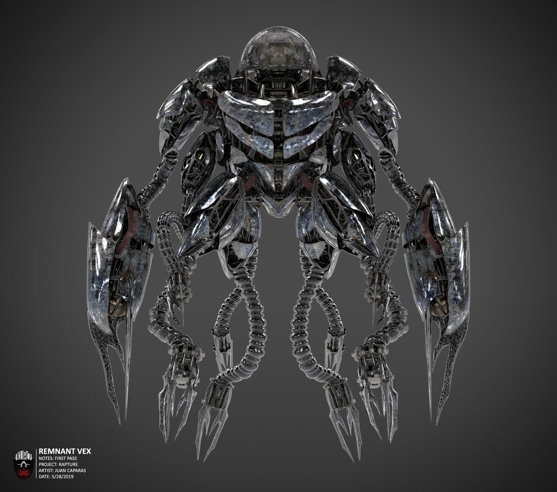 Remnant Vex Concept   Kuro Majin Productions