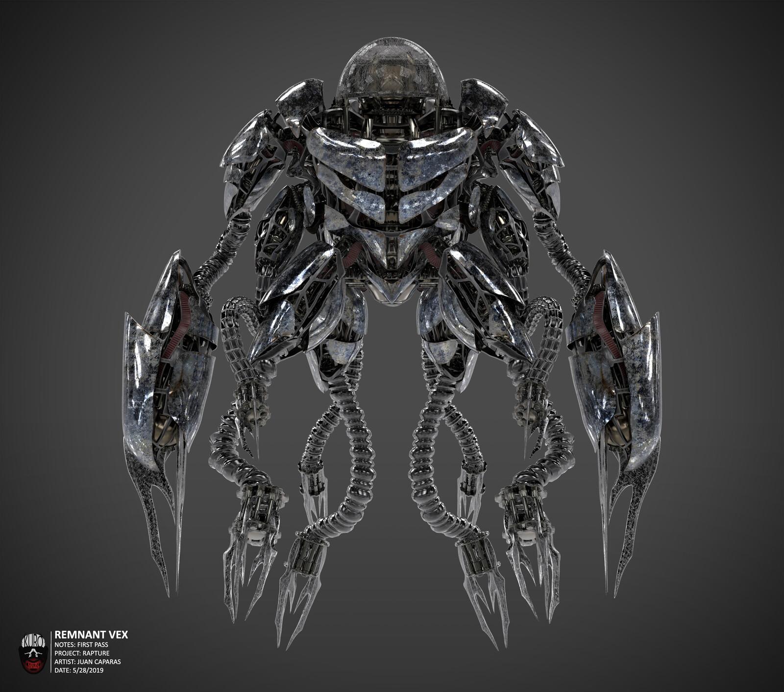 Remnant Vex Concept | Kuro Majin Productions