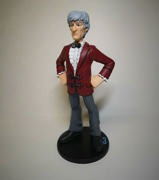 Got round to printing and painting this Doctor...I really like this one