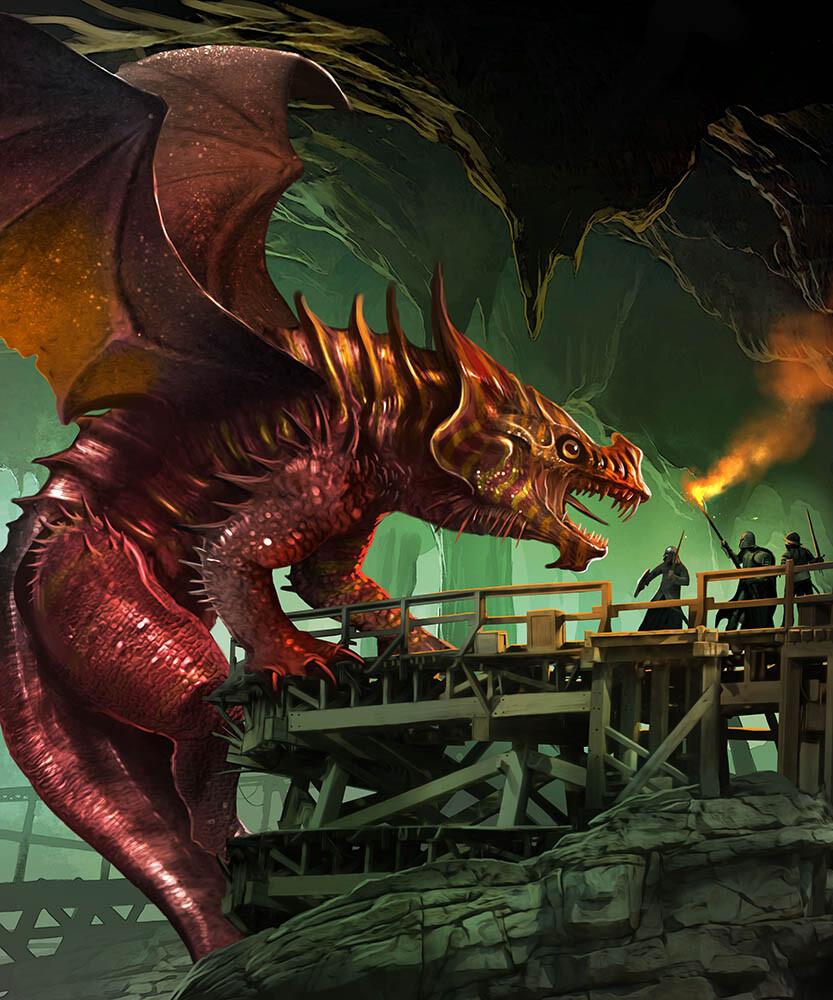 Benjamin carre mithril dragon 2