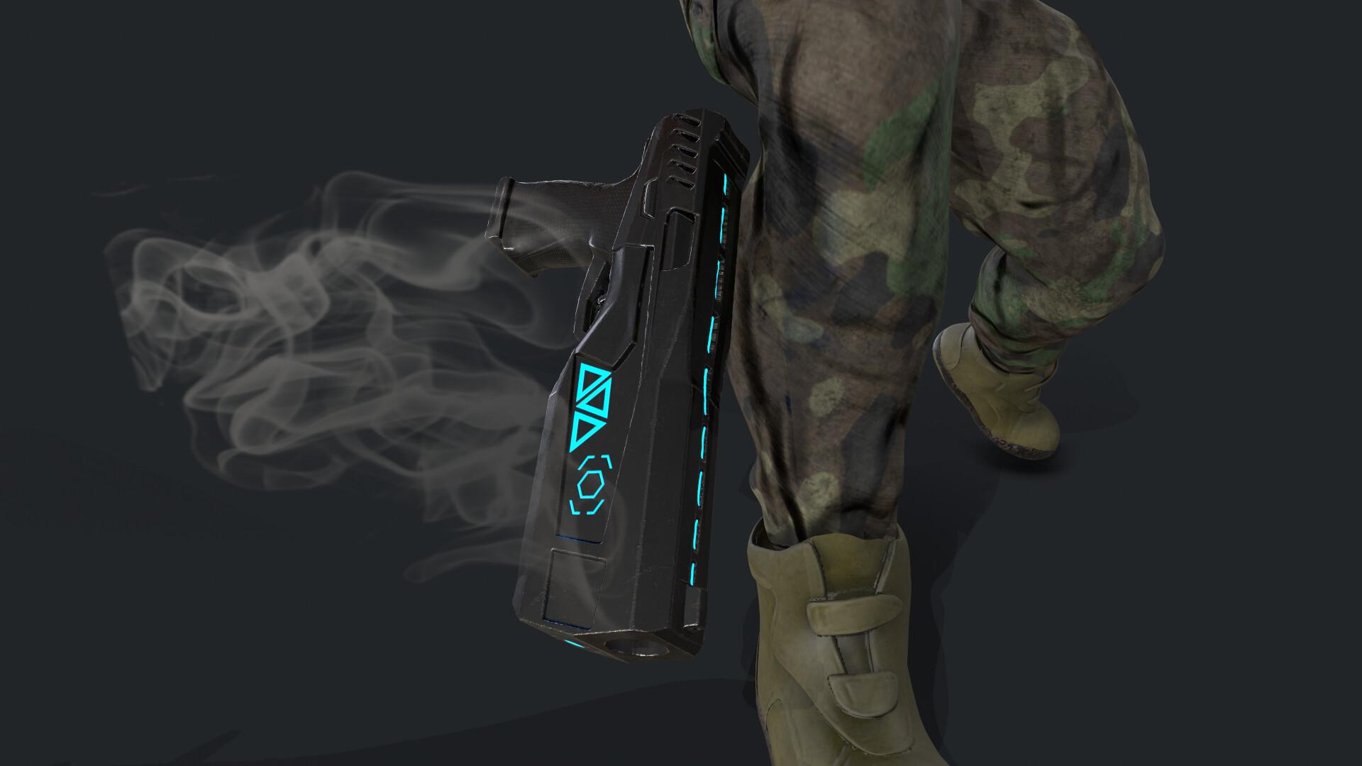 Gun Prop Textured