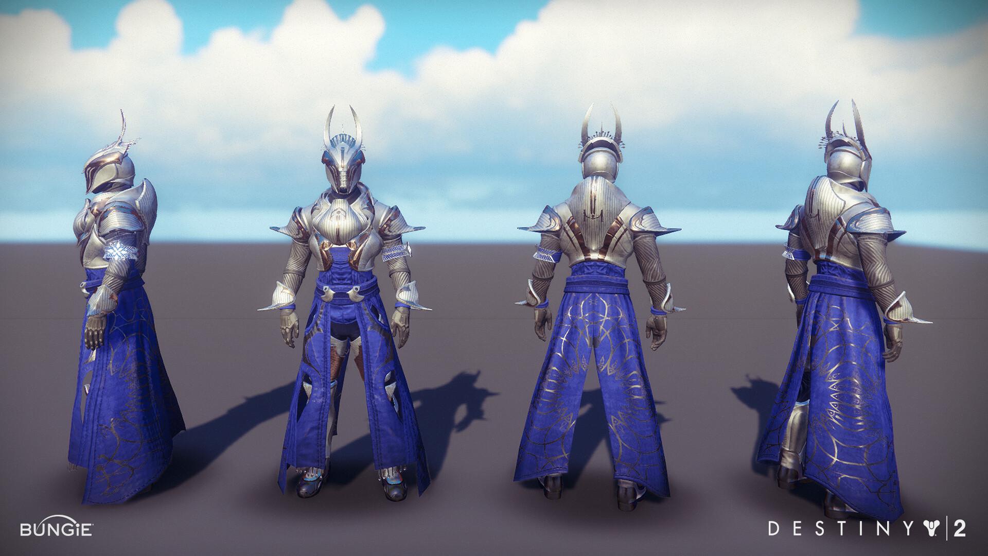 siyu ding - Destiny 2 Dawning Warlock Armor